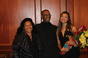 Aunt Cecilia Uncle Marlon and Christa Sweet 16
